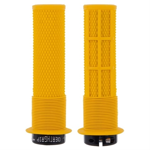 DMR BRENDOG DEATHGRIP GUL YELLOW LOCK-ON-GRIPS *