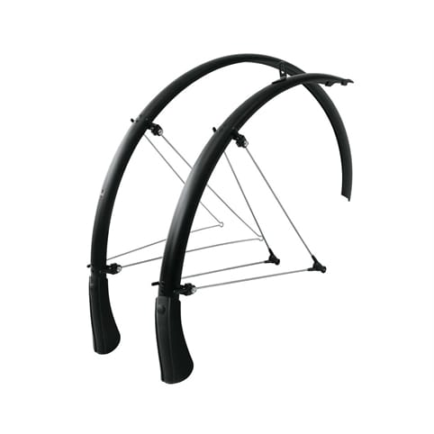 SKS BLUEMELS 28 B35 MATT BLACK MUDGUARD SET *