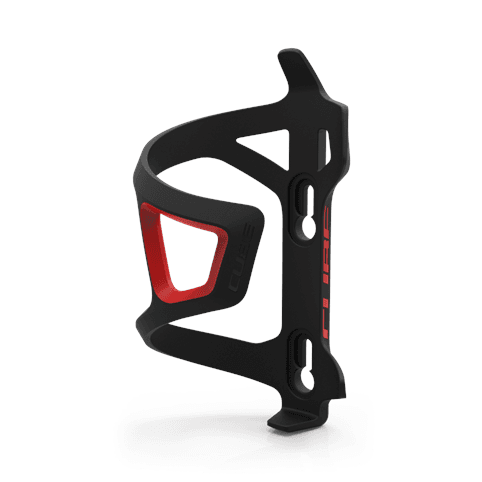 CUBE BOTTLE CAGE HPP-SIDECAGE (BLACK'N'RED) *