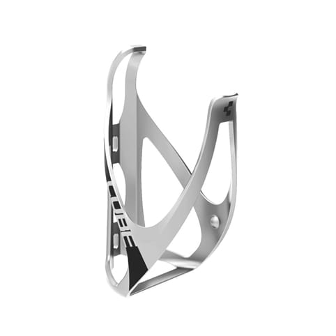 CUBE BOTTLE CAGE HPP MATT LIGHT GREY/BLACK *