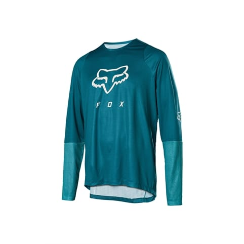 FOX DEFEND LONG SLEEVE FOX HEAD JERSEY *