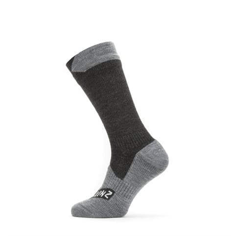SEALSKINZ WATERPROOF ALL WEATHER MID LENGTH SOCK *