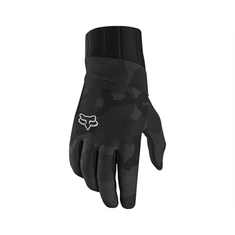 FOX DEFEND PRO FIRE BLACK CAMO GLOVE **