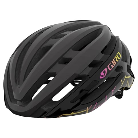 GIRO AGILIS BLACK CRAZE WOMEN'S ROAD HELMET *