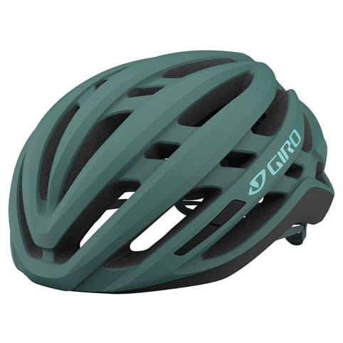 GIRO AGILIS MATTE GREY/GREEN WOMEN'S ROAD HELMET *