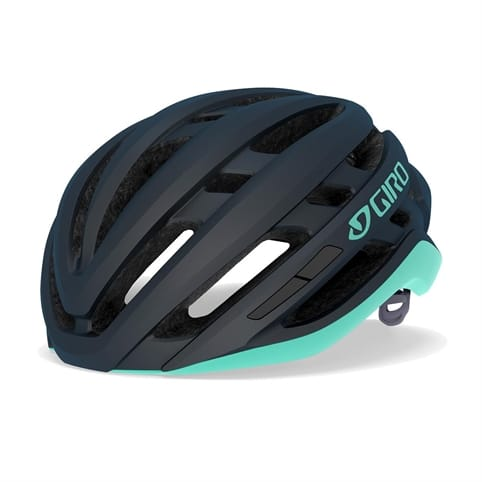 GIRO AGILIS MATTE MIDNIGHT/COOL BREEZE WOMEN'S ROAD HELMET *