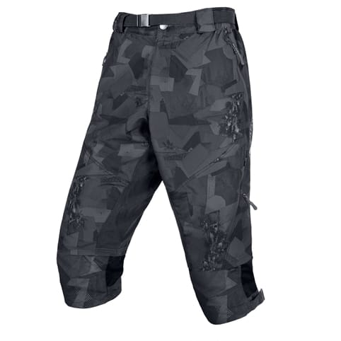ENDURA HUMMVEE 3/4 GREY CAMO SHORT II WITH LINER *