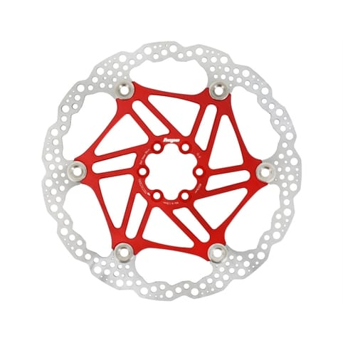 HOPE FLOATING 6-HOLE RED DISC ROTOR *