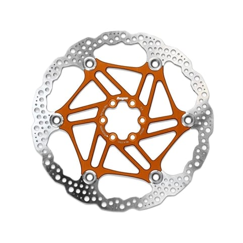 HOPE FLOATING 6-HOLE ORANGE DISC ROTOR *