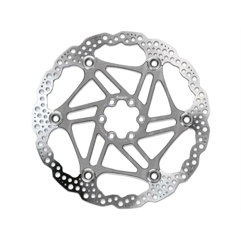 HOPE FLOATING 6-HOLE SILVER DISC ROTOR *