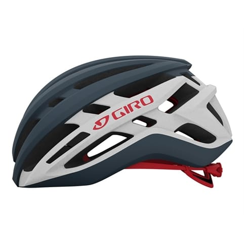 GIRO AGILIS MATTE PORTARO GREY/WHITE/RED ROAD HELMET *