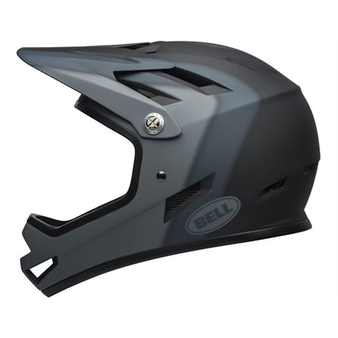 BELL SANCTION MATTE BLACK FULL FACE HELMET *