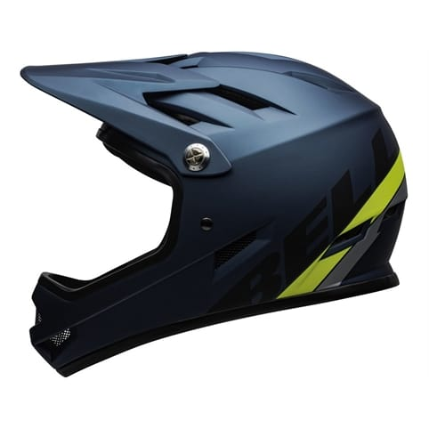 BELL SANCTION AGILITY MATTE BLUE/HI-VIZ FULL FACE HELMET *