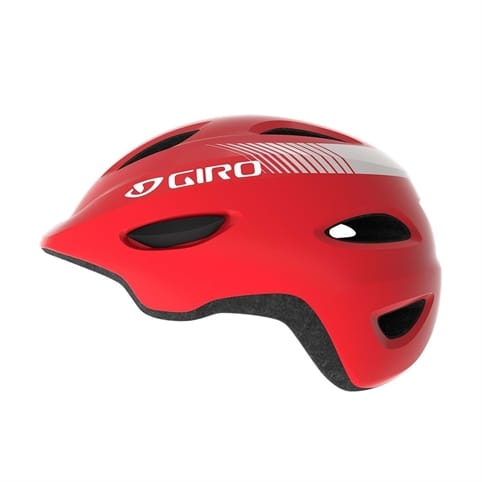 GIRO SCAMP MATTE BRIGHT RED KIDS HELMET *