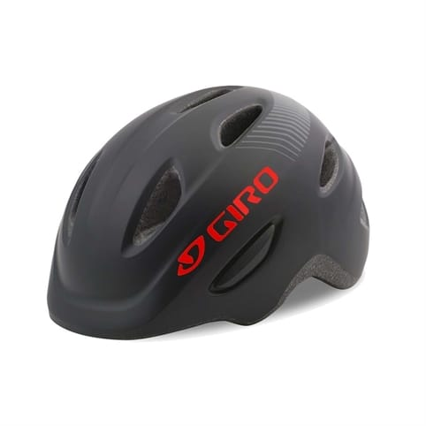 GIRO SCAMP MATTE BLACK KIDS HELMET *