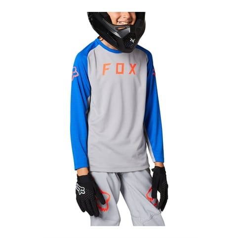 FOX YOUTH DEFEND LONG SLEEVE JERSEY *