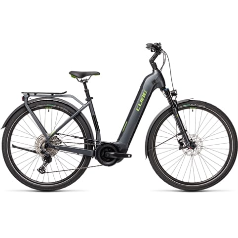 CUBE TOURING HYBRID EXC EASY ENTRY 500 ELECTRIC BIKE 2021 *