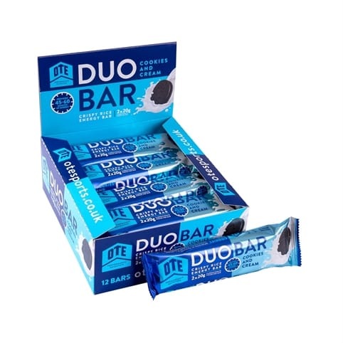 OTE DUO BAR COOKIES & CREAM (12 x 65g BARS)