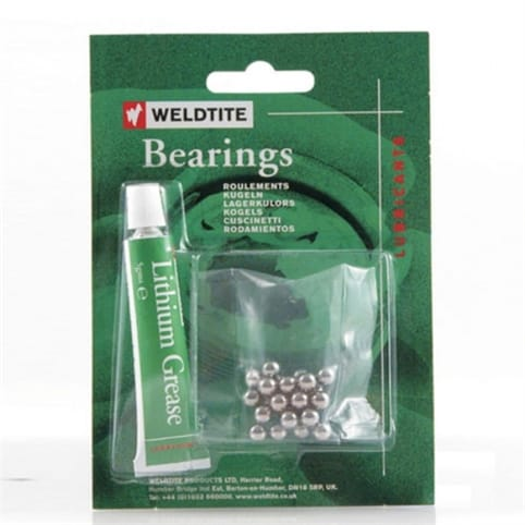 Weldtite Ball Bearings & Grease
