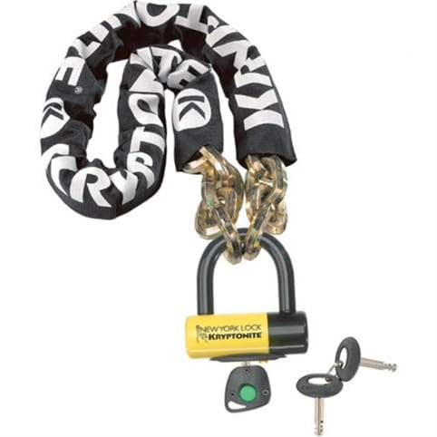 Kryptonite New York Fahgettaboudit Chain with NY Disc Lock