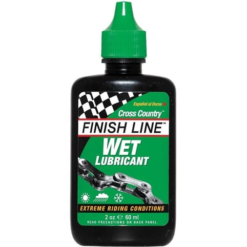 Finish Line Cross Country Wet Chain Lube - 2oz