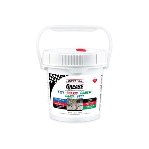 FINISH LINE TEFLON GREASE PAIL - 4 LB