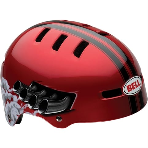 Bell Fraction BMX Kids Helmet 2014 - Red Daytona