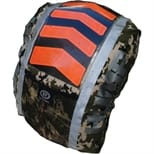 Respro Hi-Viz P15 Chevron Hump Waterproof Rucsac Cover