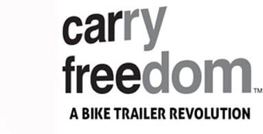 "Carry Freedom - Every journey with a trailer is a journey without a car. By making ""stuff carrying by bike"" easy, we encourage more cycle journeys. Frequently our trailers are the last step for people to stop depending on their car. Thanks for listening!"
