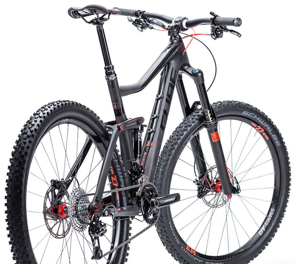 Cube 2015 Stereo 160 Super Hpc Race 27 5 Mtb Bike All