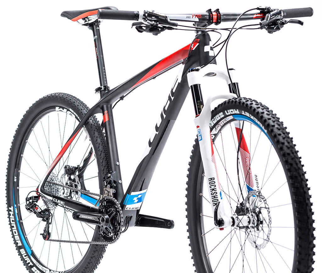 cube 2015 elite super hpc pro 29 hardtail mountain bike all terrain cycles. Black Bedroom Furniture Sets. Home Design Ideas