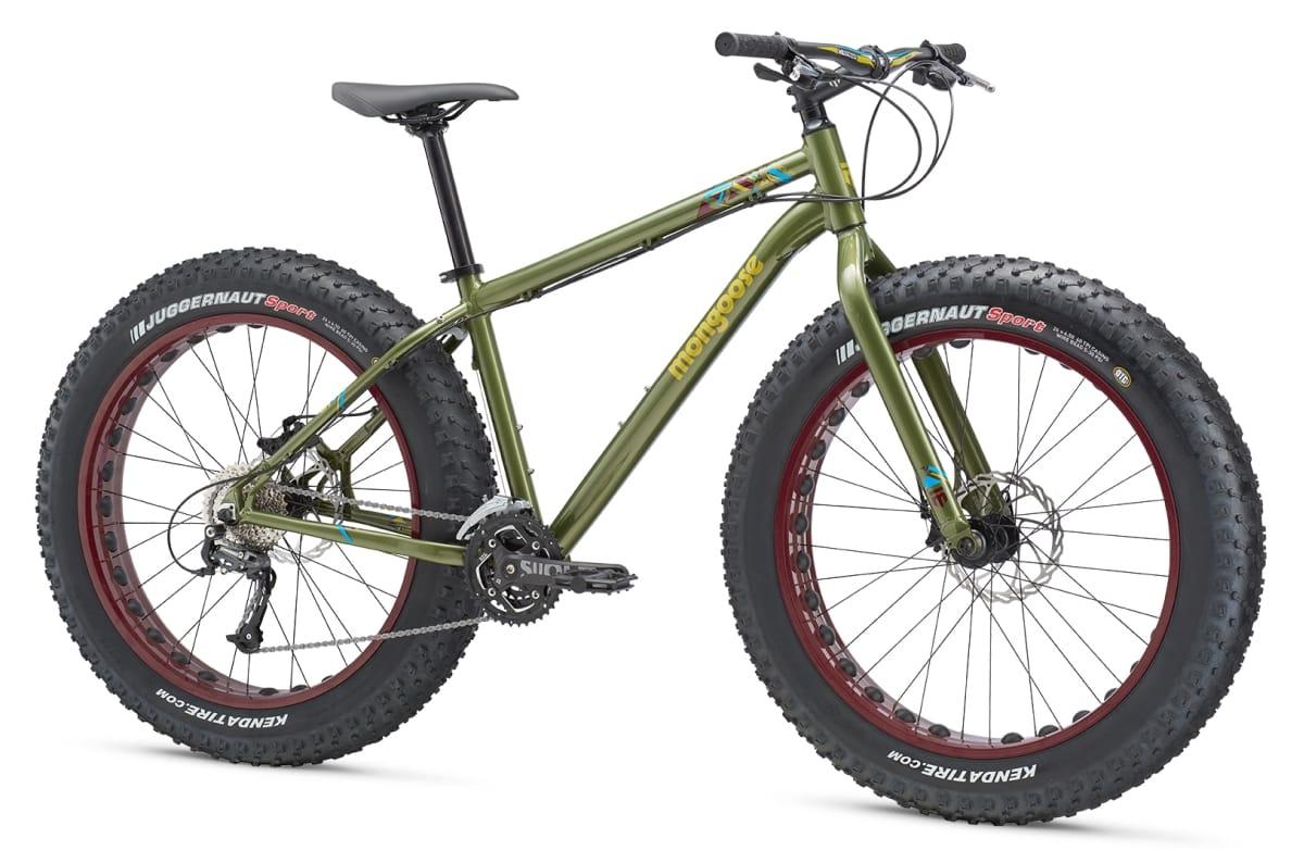 Mongoose Argus Sport Fat Bike 2016 All Terrain Cycles