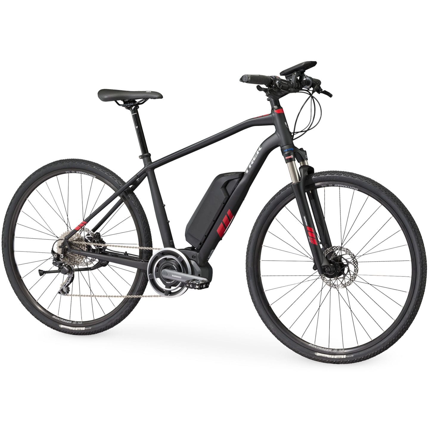 trek dual sport hybrid electric bike 2018 all terrain. Black Bedroom Furniture Sets. Home Design Ideas