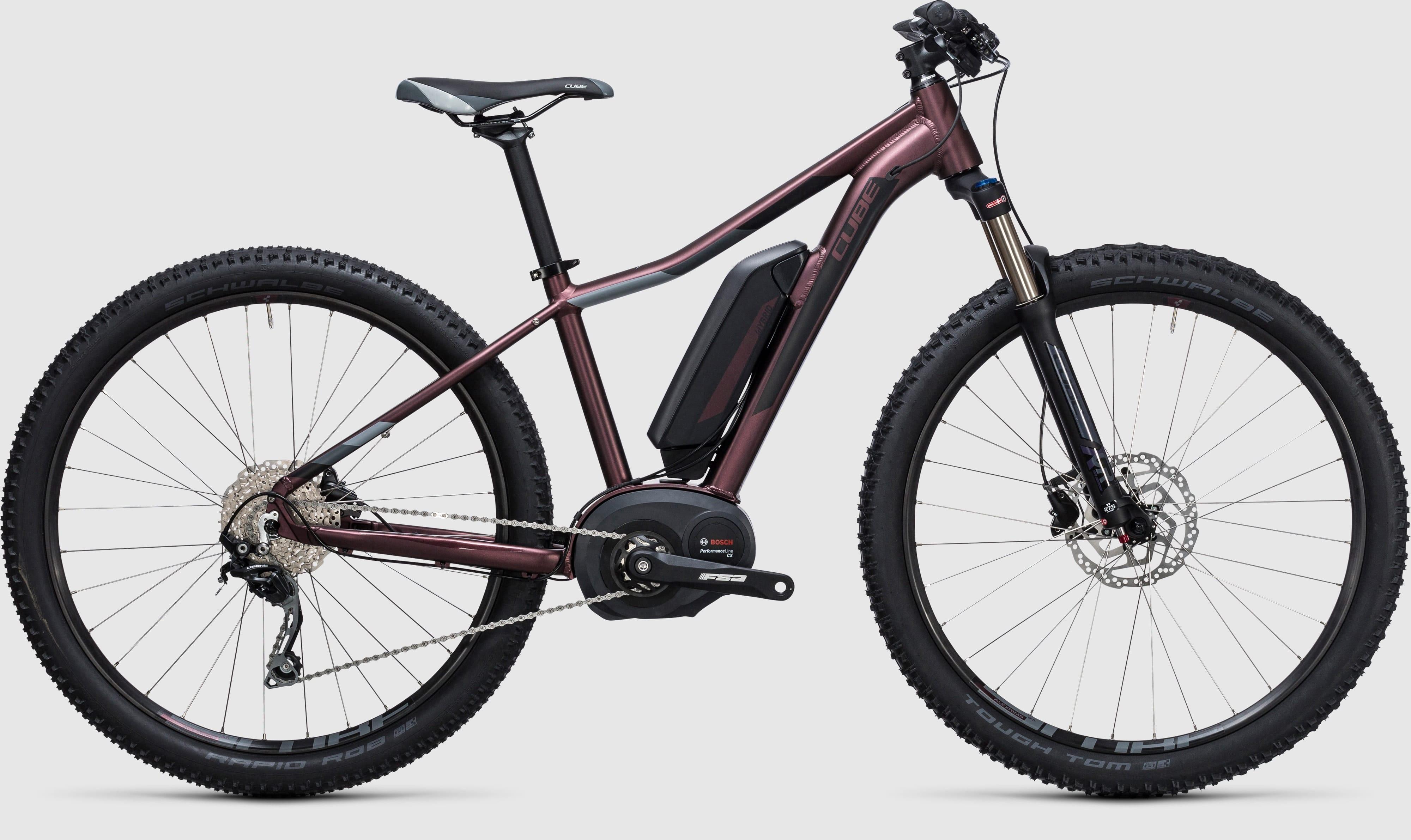 cube access wls hybrid pro 400 29 hardtail e bike 2017. Black Bedroom Furniture Sets. Home Design Ideas