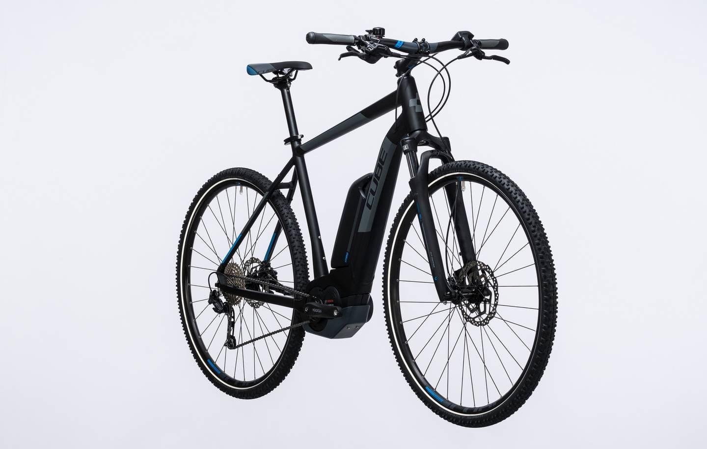 cube cross hybrid pro 400 e bike 2017 men all terrain. Black Bedroom Furniture Sets. Home Design Ideas