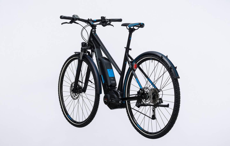 cube cross hybrid pro 400 e bike 2017 trapeze all. Black Bedroom Furniture Sets. Home Design Ideas