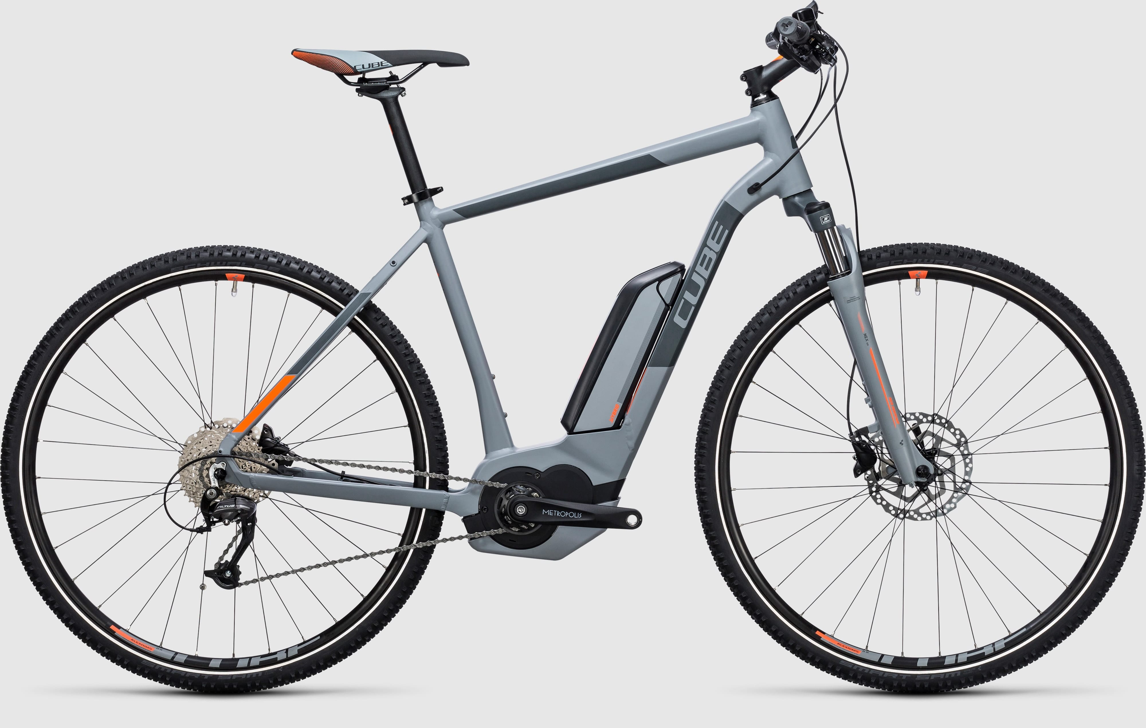 cube cross hybrid one 400 e bike 2017 all terrain cycles. Black Bedroom Furniture Sets. Home Design Ideas