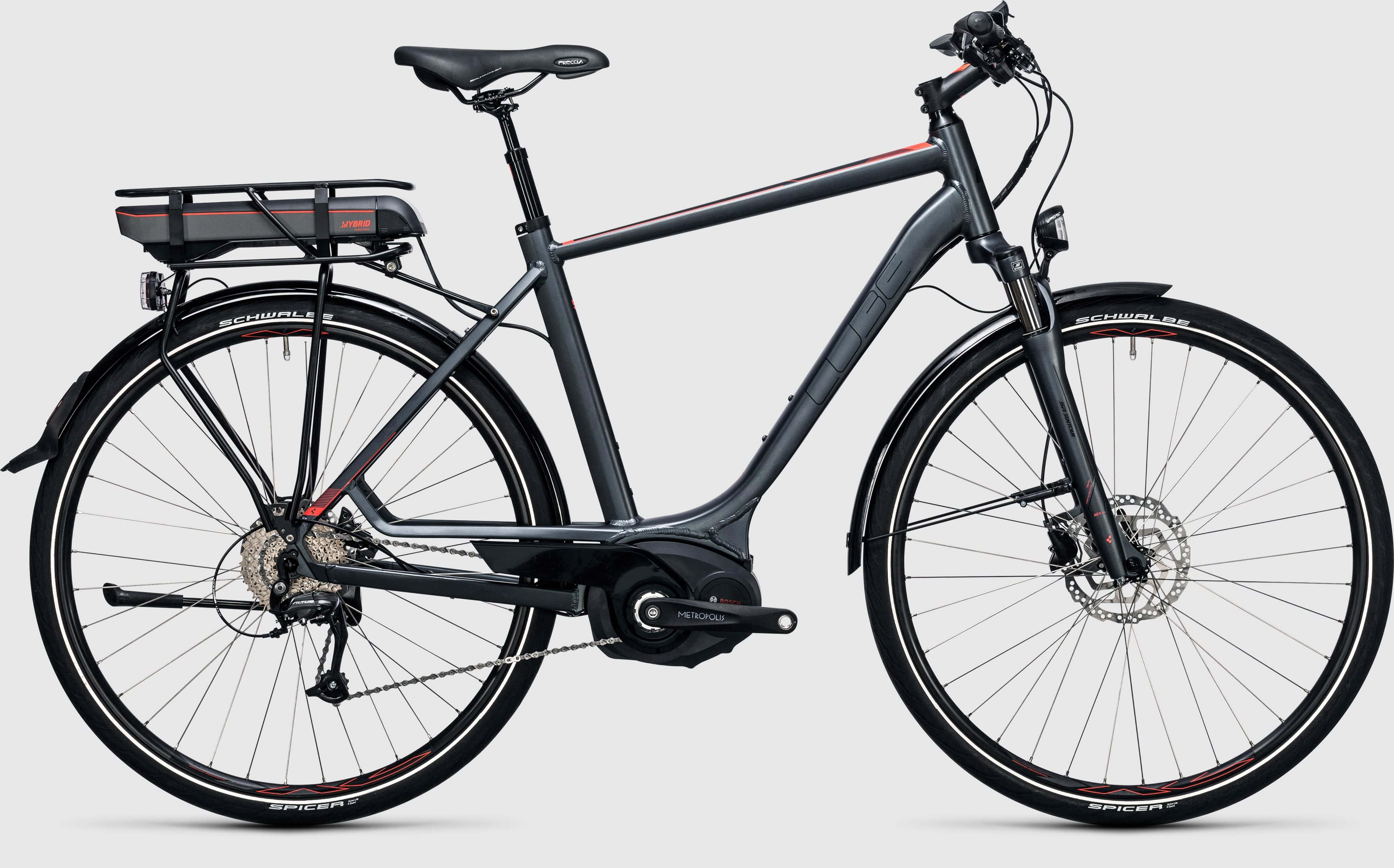 Cube Touring Hybrid Pro 500 E Bike 2017 All Terrain Cycles