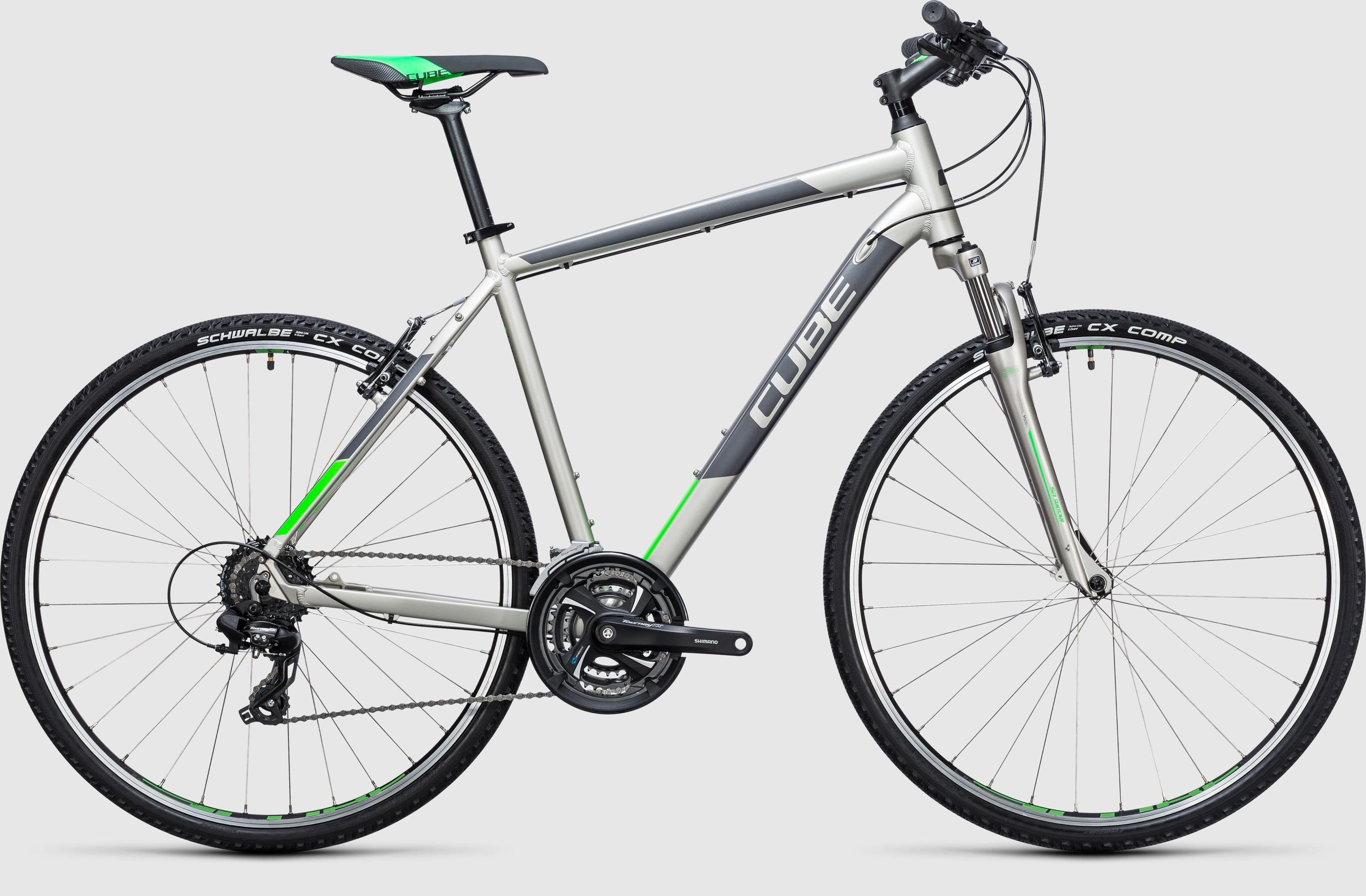 cube curve hybrid bike 2017