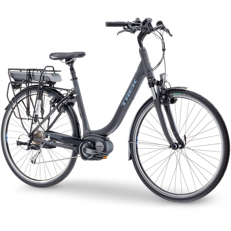 bbc3f55158a Trek TM400+ Lowstep Electric City Bike 2017 | All Terrain Cycles