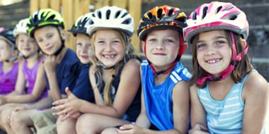 Kids - Kids and youths helmets are designed to be light, comfortable and allow for growth. When measuring your child's head you need to measure around the circumference, in-line with the temples and above the ears, head shapes will vary so most come with foam padding which can be moved around to ensure a good fit.