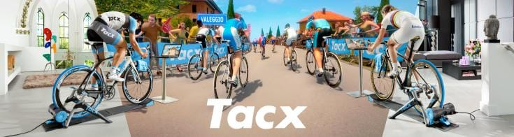 Tacx - Tacx produces indoor cycle trainers, water bottles and cages, cycling tools and workstands, and has made its name producing products that suit the occasional cyclist as well as the tour professional. A rider can comprehensively achieve and train to their ultimate goal with the extensive facilities available with Tacx trainers, which are always high quality, powerful in design and have absolute functionality and their core.