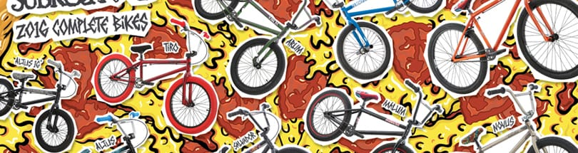 Subrosa - Subrosa BMX bikes have been used by serious BMX riders for years now. Featuring bikes designed for street, dirt, and park BMX riding, as well as many different colors and models, Subrosa provides bikes for every type of rider, which exclusively offer The Shadow Conspiracy parts on every model making Subrosa complete bikes have the value of an upgraded bike right off the sales floor.