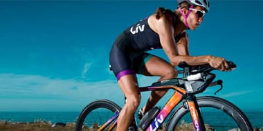 Triathlon - Swim, ride, run: a specialist triathlon bike will help you save some energy for the final gruelling phase. Aerodynamic, with a riding position which is set up to work your quad muscles, a tri bike gives your hamstrings less of a hammering before the run to the finish line. Whatever your level of competition,