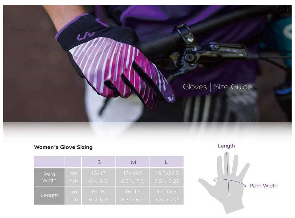 GIANT LIV PASSION GLOVE