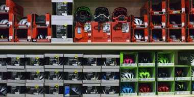 Protection - No matter what style of cycling you're into, a helmet will always be an essential part of your kit. For road riders, we have a range of helmets to keep you safe in the busy, urban environment. Many of our road helmets go beyond function, with advanced aerodynamic designs.For more extreme types of cycling – such as mountain biking or BMX, you'll need a little extra protection. Our range of body armour and specialist padding is designed to help you stay safe. Browse our collection today.