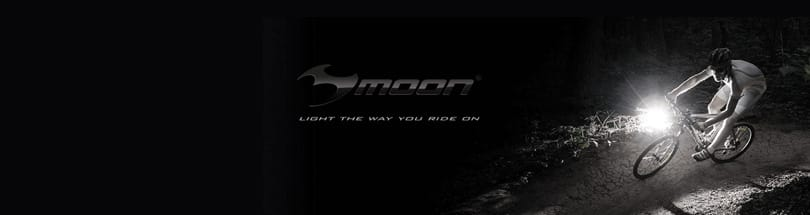 Moon - Check out our Moon Sport Lights. Bright, durable and rugged, Moon Lights are perfect for the serious cyclist. Our range includes front lights, rear lights and light sets all of which comply with bicycle lighting regulations and are easy to fit and use Don't forget, between sunset and sunrise, bike lights are a legal requirement on your bike.