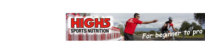 High5 - High5 is a UK company run by athletes. They have competed in many of the World's toughest events and have years of racing experience between them. So they how important it is to get your nutrition absolutely right and what it takes to make a great sports product. High5 has close links with Universities and leading researcher groups. Combining our practical no-nonsense approach with the latest developments in sports science, means that High5 products are always leading edge and 100% fit for purpose.