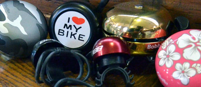 Bells & Horns - Every cyclist needs a bell. Bells, along with lights, are not just for your own safety, but they make cycling safer for other cyclists, pedestrians and car drivers.