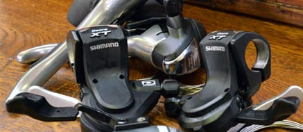 Gear Shifters - When choosing what brand of shifter would be best, it very much depends on the groupset that you use. The groupset you fit to your bike will limit your shifter options, it is not recommended to mix different brands of drive train components, even if they have the same amount of gears.